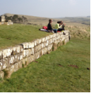 students at Hadrian's Wall